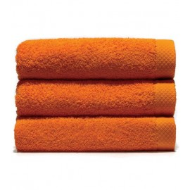 Serviette de toilette 50x100 cm Gamme Pure Uni - Orange