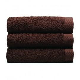 Serviette de bain 70x140 cm Gamme Pure Uni - Chocolat