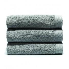 Serviette de bain 70x140 cm Gamme Pure Uni - Gris