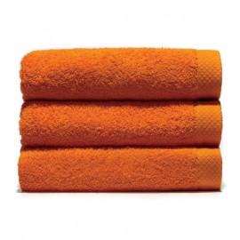 Serviette de bain 70x140 cm Gamme Pure Uni - Orange