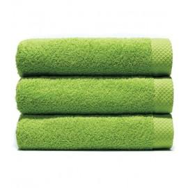 Serviette de bain 70x140 cm Gamme Pure Uni - Vert Pistache