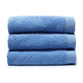 Serviette de bain 70x140 cm Gamme Pure Uni - Bleu