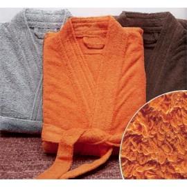 Peignoir de bain taille XL couleur Orange Gamme Pure Uni - Orange
