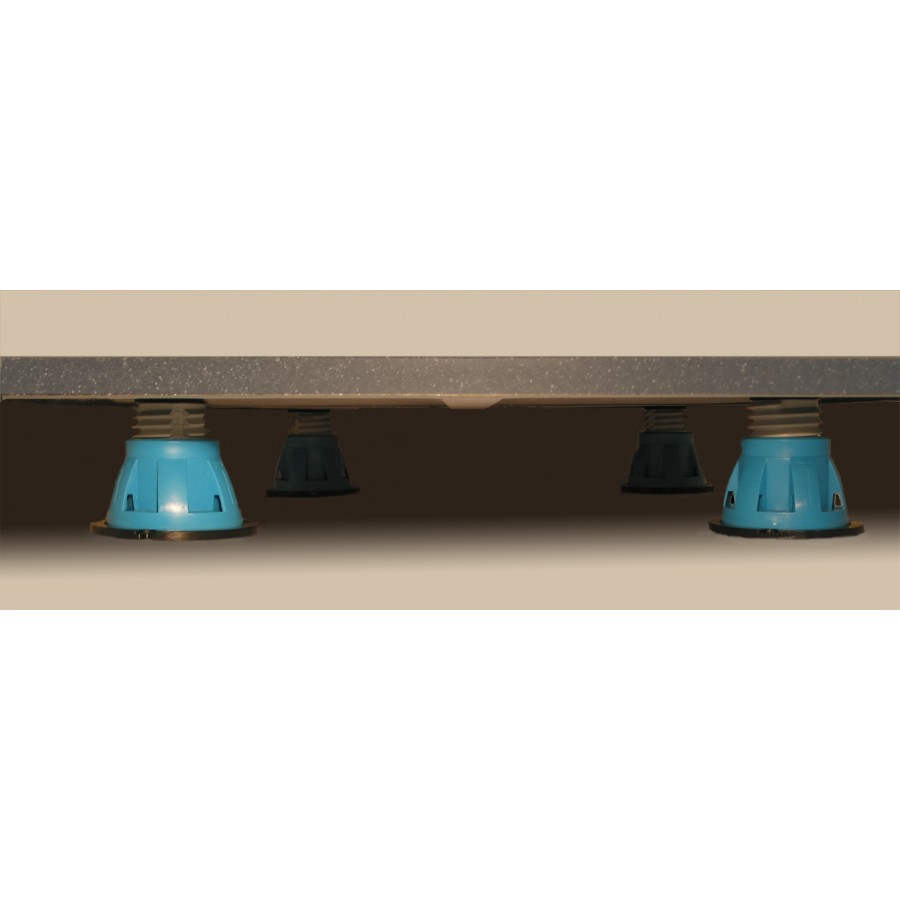 receveur de douche pieds r glables pour receveur de. Black Bedroom Furniture Sets. Home Design Ideas