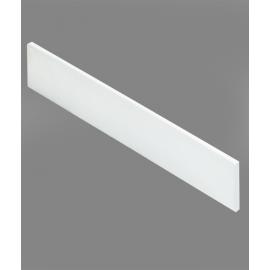 Résiplinthe - plinthe pour Receveur de douche Blanc - 190x10
