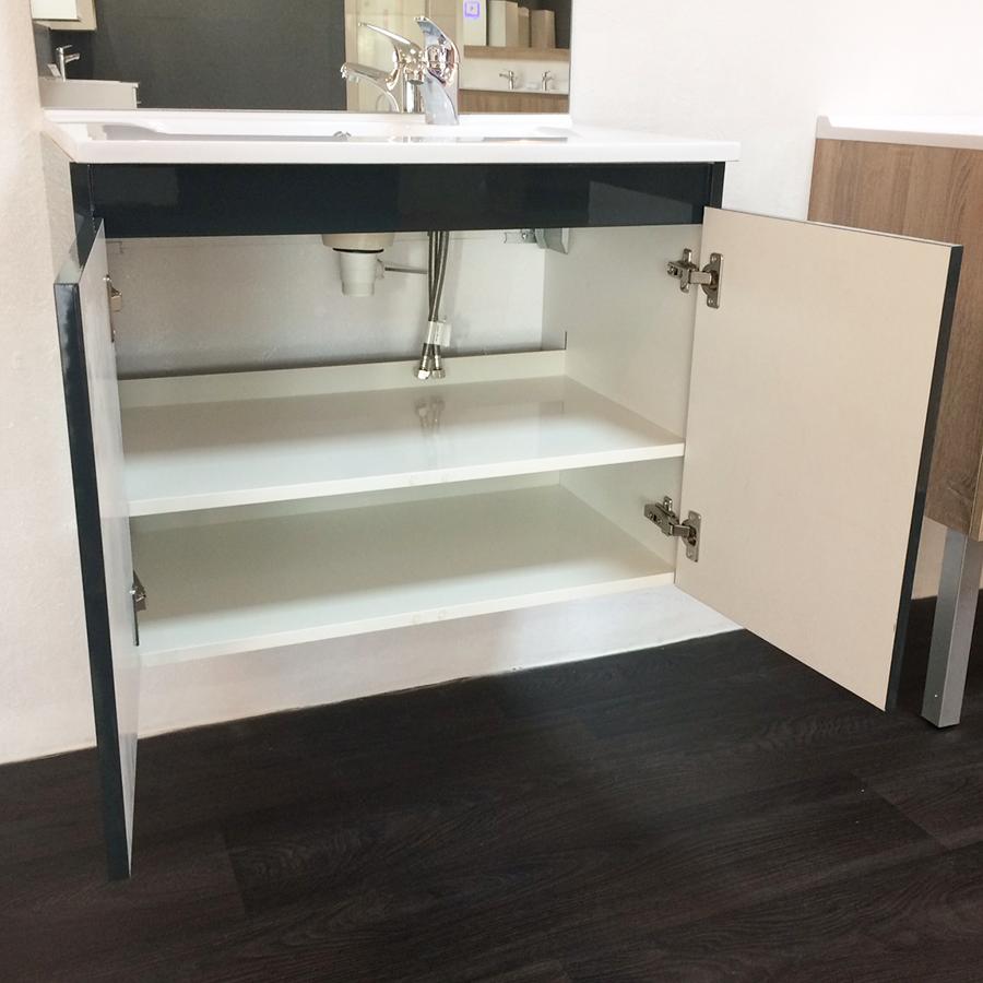 Salle de bains meuble design par cher saisir for Salle de bain meuble gris anthracite
