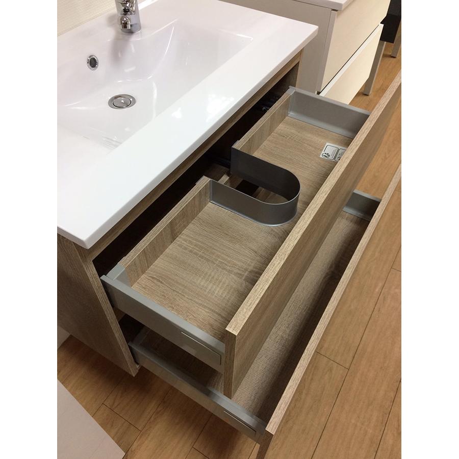 Salle de bains caisson simple vasque rosaly for Caisson sous vasque salle de bain