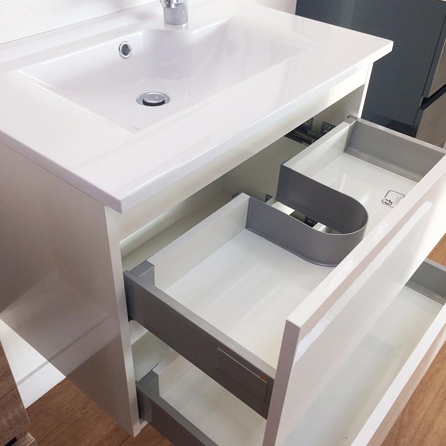 salle de bains caisson simple vasque rosaly. Black Bedroom Furniture Sets. Home Design Ideas