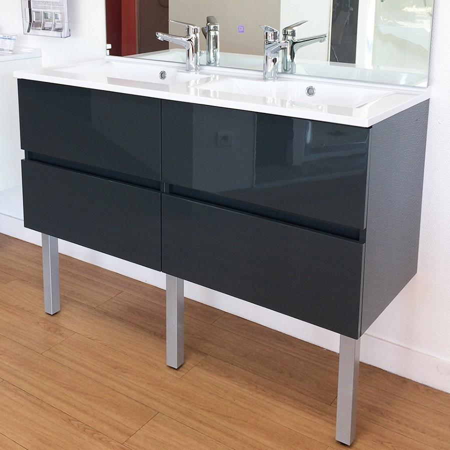 caisson rosaly double vasque salle de bains. Black Bedroom Furniture Sets. Home Design Ideas