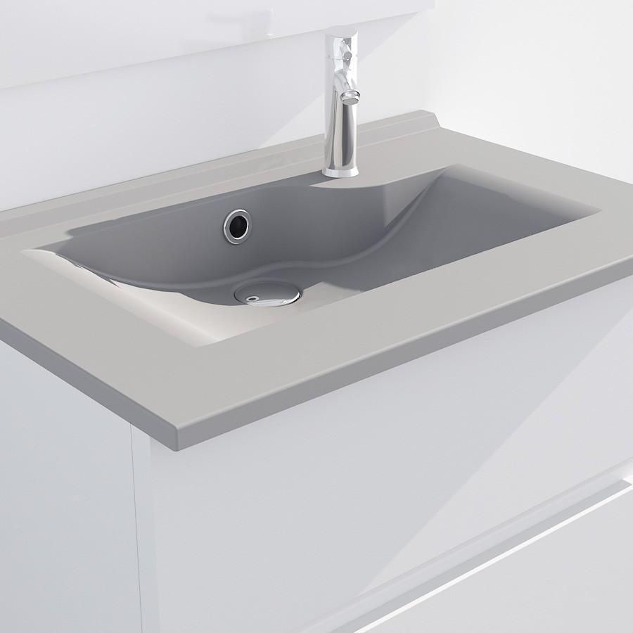 plan vasque simple en r sine de salle de bain andernos 70. Black Bedroom Furniture Sets. Home Design Ideas