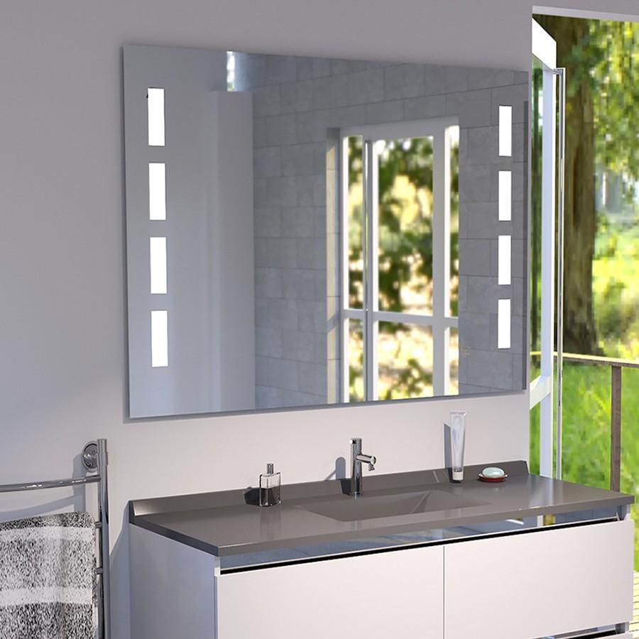 miroir r tro clairant. Black Bedroom Furniture Sets. Home Design Ideas