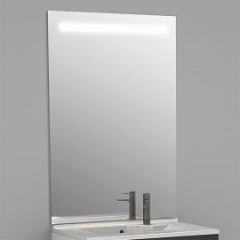 Miroir rétro éclairé MIRLUX - 60x105 cm - avec interrupteur sensitif