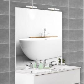 Miroir avec applique MIRCOLINE - 120 cm + appliques