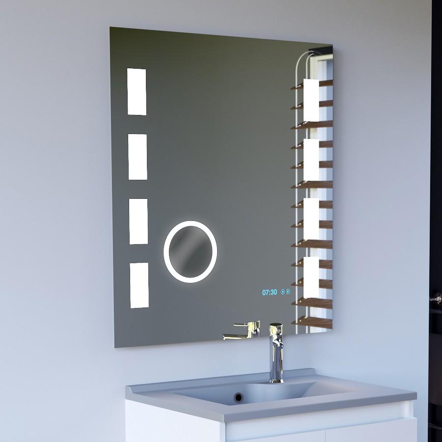 Miroir r tro clairant - Miroirs salle de bain avec eclairage ...