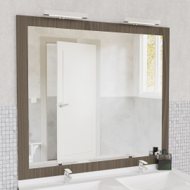 Miroir avec applique Led MIRALT - 140 cm - vienna