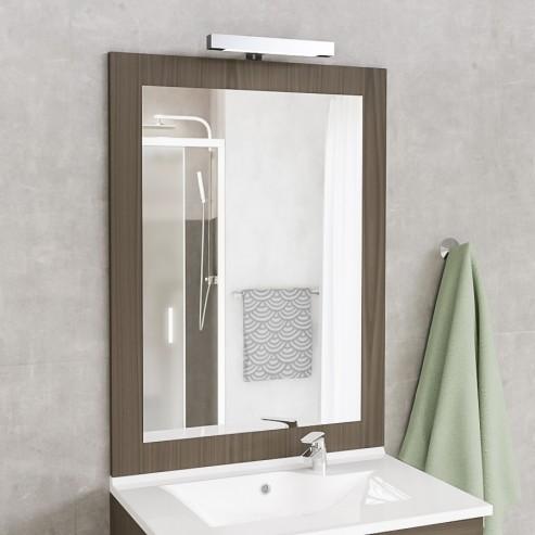Miroir avec applique Led MIRALT - 70 cm - vienna