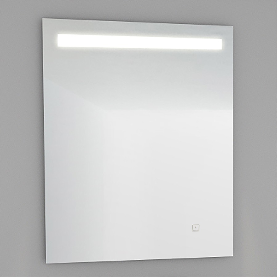Miroir r tro clairant for Miroir 60x80