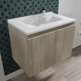 Caisson simple vasque PROLINE 70 - Cambrian oak