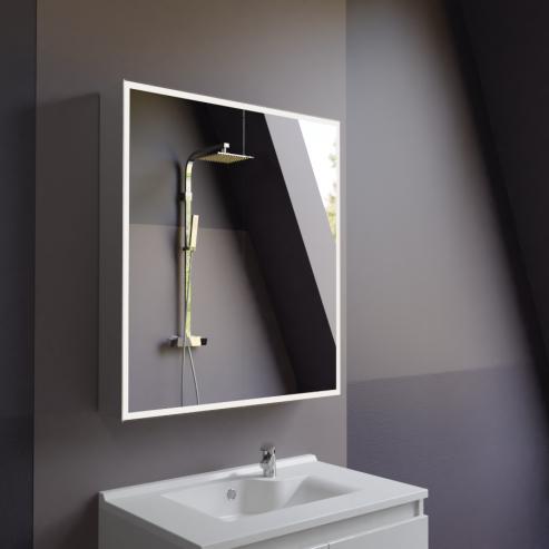 Armoire Miroir 2 Portes Salle De Bain ARMIROIR   70 Cm