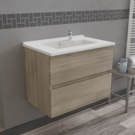 Caisson simple vasque ROSALY 70 - Cambrian oak