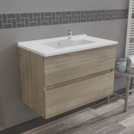 Caisson simple vasque ROSALY 80 - Cambrian oak