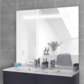 Miroir rétro éclairé Elégance- 124x105 cm - avec interrupteur sensitif