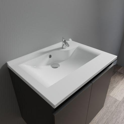 Plan simple vasque prof 46 RÉSILOGE - 60 cm