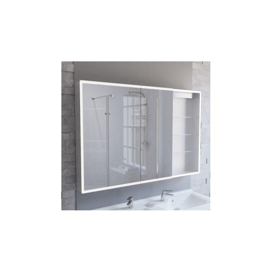 Miroir Salle De Bain 120 miroir armoire de salle de bain pas cher