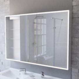Armoire miroir LED ARMILED avec portes à droite - 120 cm