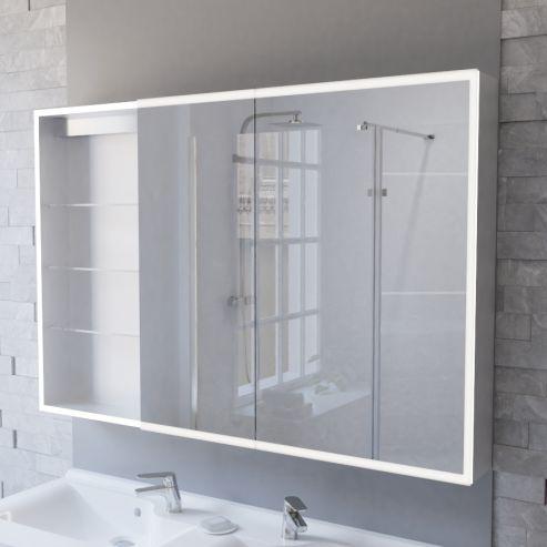 Miroir armoire de salle de bain pas cher - Armoire de salle de bain pas cher ...