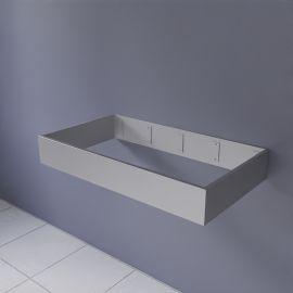 FRAMALU sans vasque 45cm de profondeur - 4 largeurs différentes