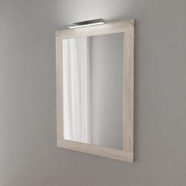 Miroir avec applique LED MIRALT - 70 cm - cambrian