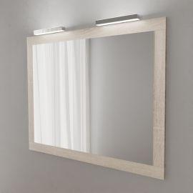 Miroir avec applique LED MIRALT - 120 cm - cambrian