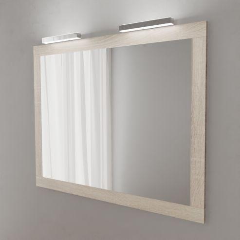 Miroir avec applique LED MIRALT - 140 cm - cambrian
