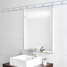 Miroir rétro éclairé MIRLUX - 60x80 cm - avec interrupteur sensitif