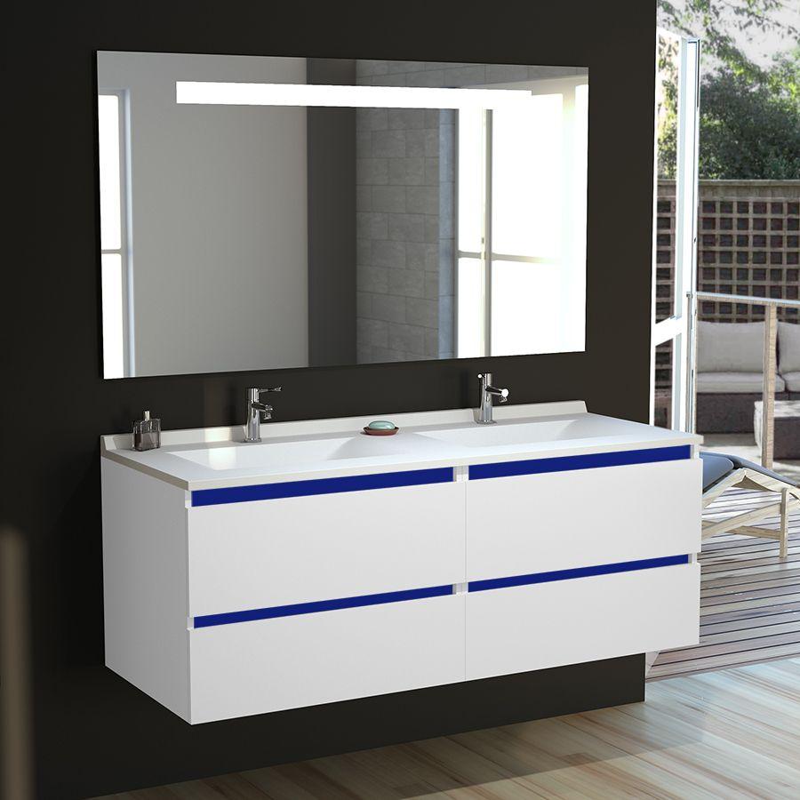 Vasque suspendu pour salle de bain - Salle de bain avec vasque ...