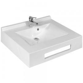 Vasque lavabo suspendu salle de bain 70 cm ÉVIDENCE