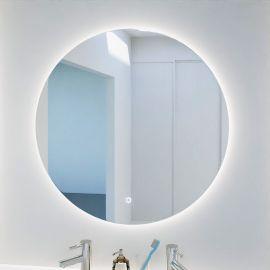 Miroir rond FAZZIO- 80 cm - avec interrupteur sensitif et éclairage intérieur LED