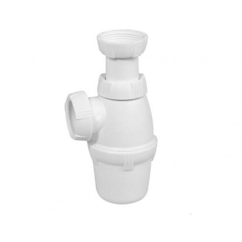 Siphon lavabo réglable PVC WIRQUIN
