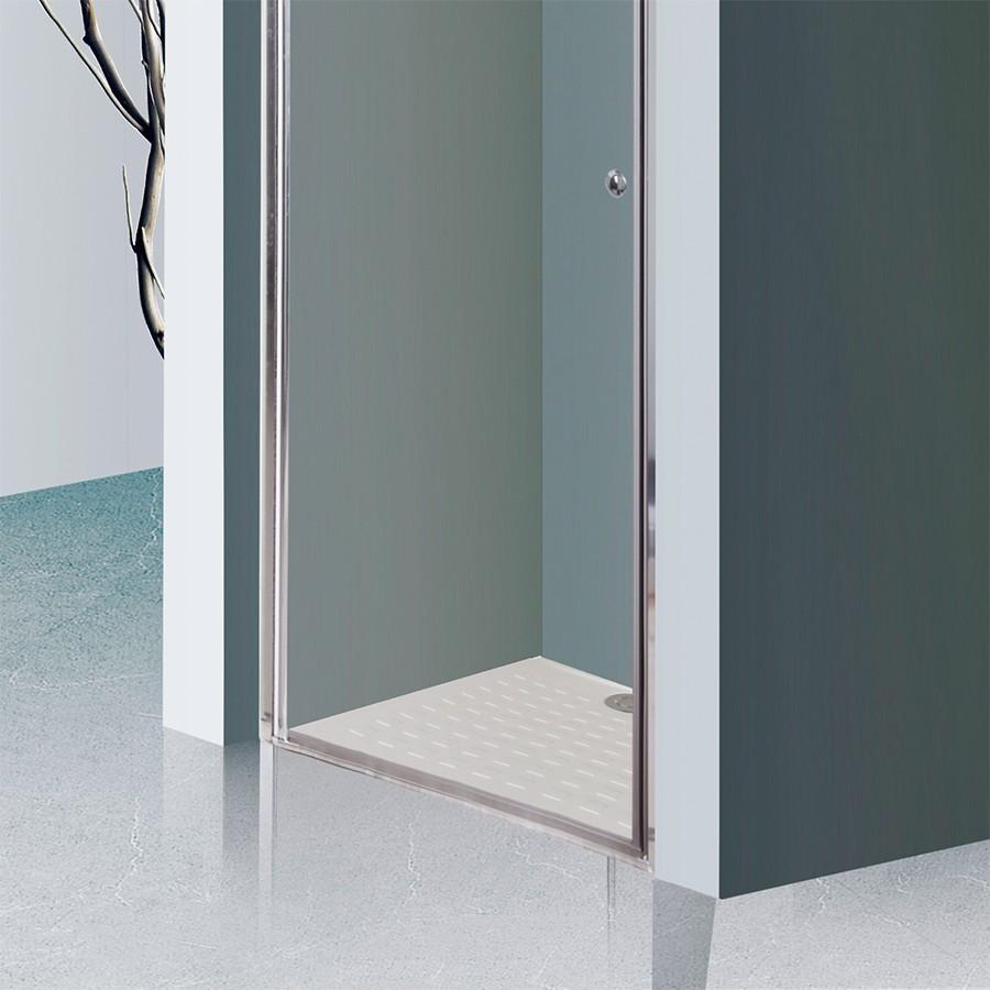 porte de douche 6mm dylane 100cm unesalledebain. Black Bedroom Furniture Sets. Home Design Ideas