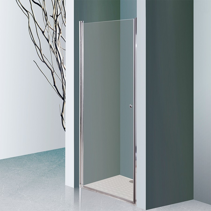 porte de douche 6mm dylane 80cm unesalledebain. Black Bedroom Furniture Sets. Home Design Ideas