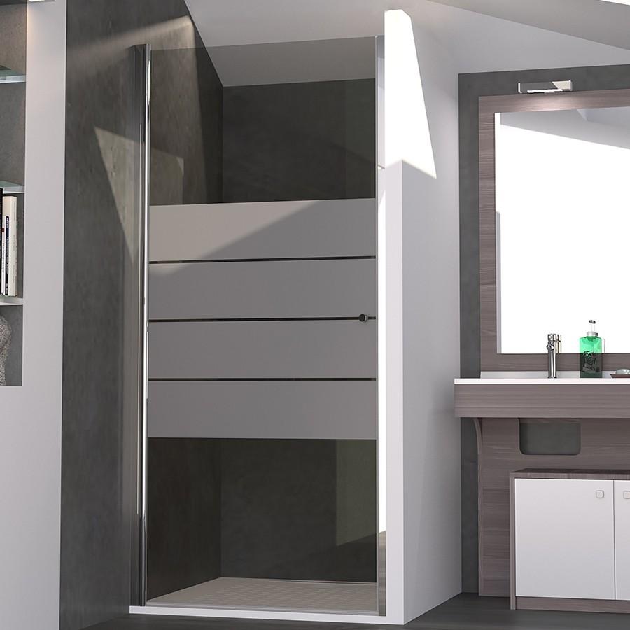 porte de douche 6mm serylane 80cm unesalledebain. Black Bedroom Furniture Sets. Home Design Ideas