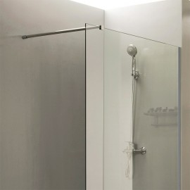 Paroi de douche fixe 8 mm CALYPSO - 120 cm