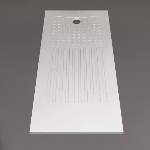 receveur de douche extra plat blanc d coupable. Black Bedroom Furniture Sets. Home Design Ideas