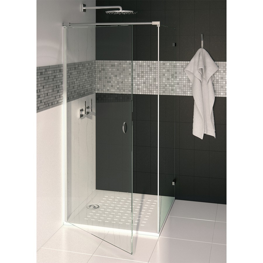 receveur de douche ultra plat blanc r sibac 80x80 cm. Black Bedroom Furniture Sets. Home Design Ideas
