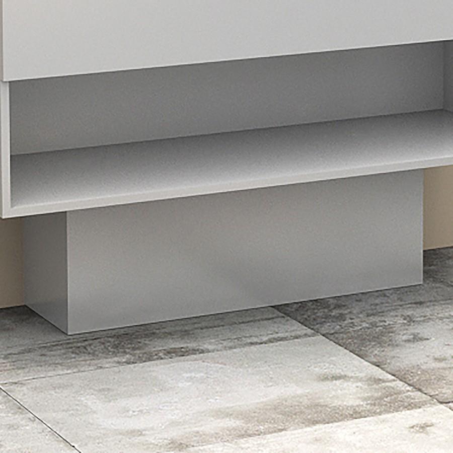 cache tuyaux pour meuble salle de bain coloris weng. Black Bedroom Furniture Sets. Home Design Ideas