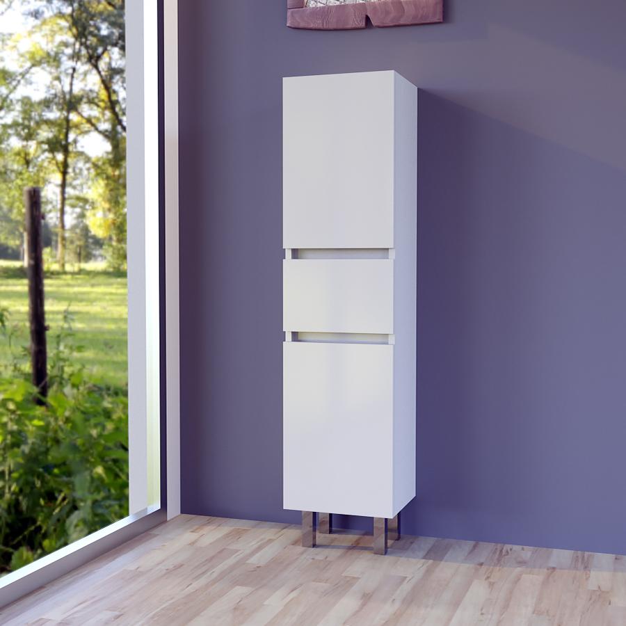 colonne salle de bain armoire salle de bain sur pieds avec tiroir. Black Bedroom Furniture Sets. Home Design Ideas
