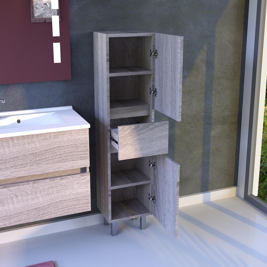 Colonne Salle De Bain Avec Tiroir ~ colonne salle de bain armoire salle de bain sur pieds avec tiroir
