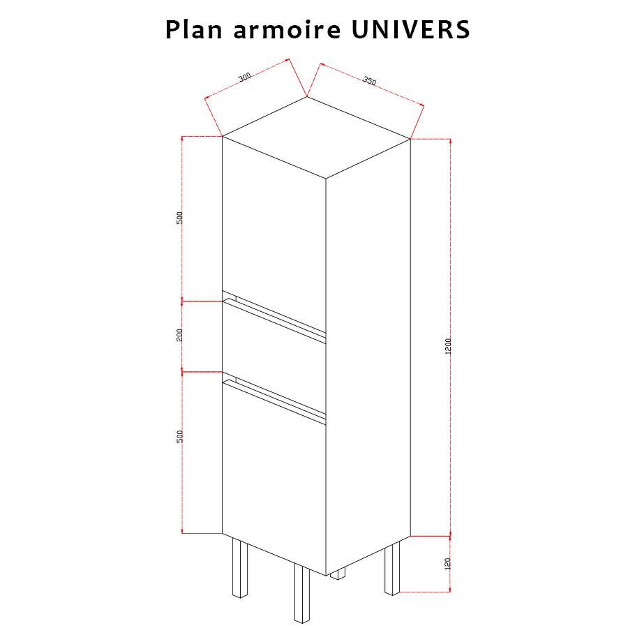 Colonne Salle De Bain Gris Anthracite ~ colonne salle de bain armoire salle de bain sur pieds avec tiroir
